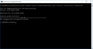 .NET-Setup vorbereiten